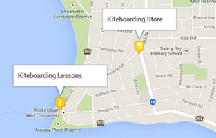 West Oz Kiteboarding Locations